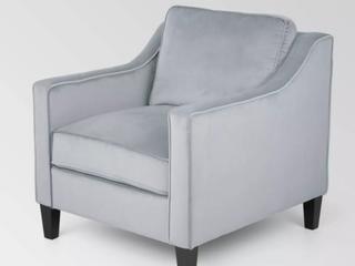 Haley Contemporary Fabric Club Chair