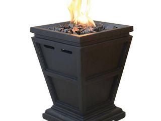 UniFlame lP Gas Fire Pit Tabletop Column