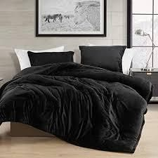 Queen Coma Inducer Oversized Comforter   Me Sooo Comfy   Black   Retail 128 99