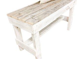 Del Hutson Design Handmade Barnwood Bench