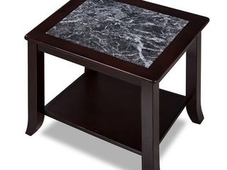 Sleeplanner White Natural Marble Top Side Table