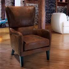 lorenzo Microfiber Wingback Chair