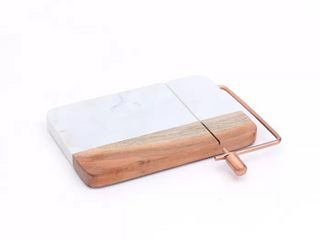 Cheese Slicer Marble Wood   Threshold   3 Piece Core Stripe Washcloth Set Copper   Hearth   Hand with Magnolia  RETAIl  27 98