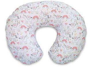 Boppy Original Nursing Pillow Cover   Rainbows   Unicorns  RETAIl  9 99