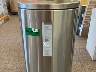 Stainless Steel Step Trash Can   Made By Design  RETAIl  55 00