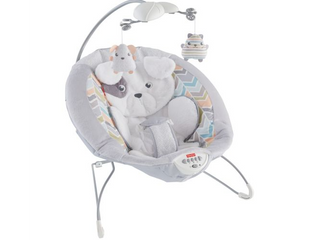 Fisher Price Sweet Snugapuppy Dreams Deluxe Bouncer  RETAIl  59 99