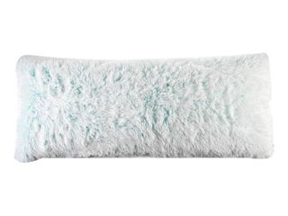 Your Zone Fluffy 20  x 48  Body Pillow for Kids  Teal  RETAIl  14 88