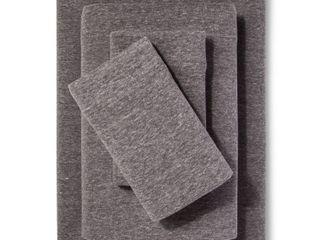 Solid Jersey Sheet Set   Room Essentials  Queen  Heather Gray  RETAIl  33 99