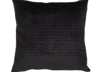 lOT OF 2  Pinsonic Velvet Pillow Black   Saro lifestyle  RETAIl  49 98