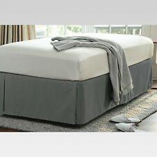 Wrinkle Resistant Bed Skirt   Threshold  Full  Gray  RETAIl  27 99
