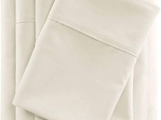 Beautyrest 600 Thread Count Cooling Cotton Rich Queen Sheet Set in Ivory  RETAIl  54 99