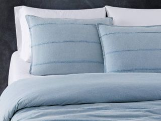 Sean John Tufted Stonewash Comforter Set  Blue  Twin Twin Xl  RETAIl  99 99