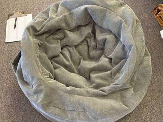 Pillowfort Cocoon Bean Bag Chair   Gray  READ