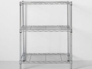 3 Tier Wire Shelf   Made By Design   Chrome  RETAIl  25 00