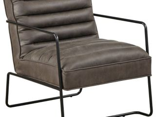 Homer Accent Chair  Gray  RETAIl  348 00