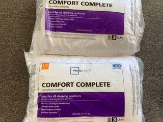 Pair Standard Queen Pillows