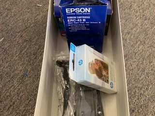 lOT  hp Sprocket 2 x3  Photo Paper   4 Epson Ink