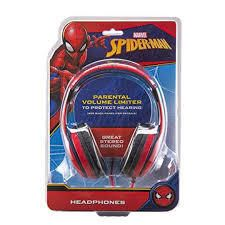Marvel Spider Man Kids  On the Ear Wired Headphones  RETAIl  19 99