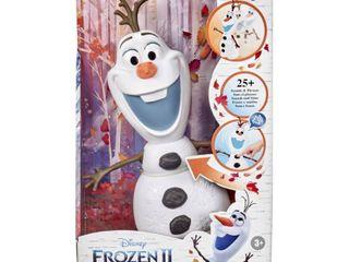 Disney Frozen 2 Walk and Talk Olaf Toy  RETAIl  29 99
