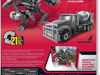 Transformers Toys Studio Series 53 Voyager Class Revenge of The Fallen Movie Constructicon Mixmaster Action Figure  RETAIl  29 99