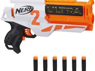 NERF Ultra Two Motorized Blaster   Fast Back Reloading   Includes 6 Ultra Darts  RETAIl  24 99