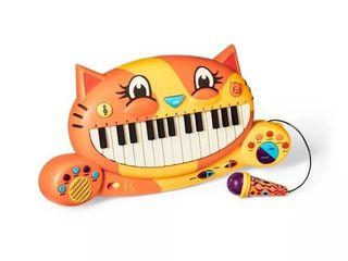 B  Toys Interactive Cat Piano   Meowsic  RETAIl  26 99