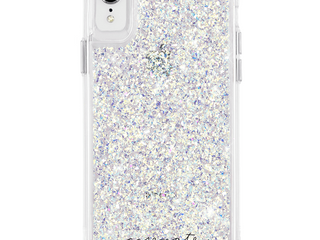 Case Mate iPhone XR Phone Case   Twinkle Stardust  RETAIl  40 00