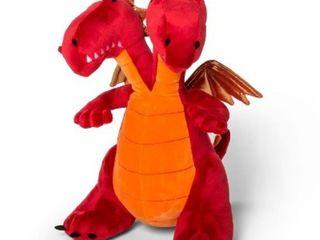 Two Headed Dragon Throw Pillow   Pillowfort  RETAIl  18 99