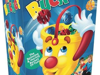 The Original Mr  Bucket Game   The Spinning   Moving Bucket of Fun  by Pressman  RETAIl  29 99