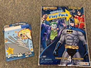 lOT  Batman Surprise Play Pack   Battle Fleet Imagine Ink  RETAIl  10