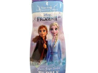 lOT OF 3 Disney Frozen II Glacier Grape Bubble Bath 24 oz each  RETAIl  8 67
