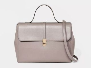 Structured Top Handle Work Tote Handbag   A New Day  RETAIl  44 99