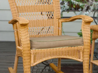 Surfside Outdoor Southwest Rocking Chair by Havenside Home Retail 124 99