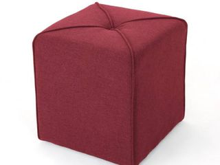 Kenyon Fabric Square Ottoman by Christopher Knight Home Retail 93 49