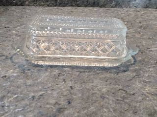 Wexford Crystal Butter Dishes