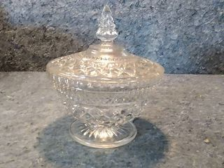large Wexford Crystal Candy Dish