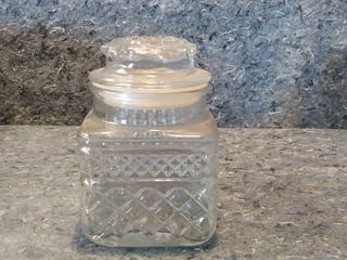 Small Wexford Crystal Canister