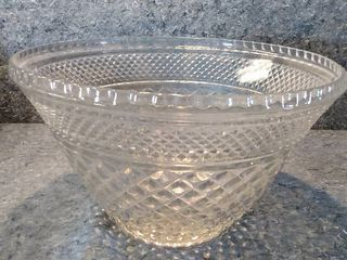 Very large Wexford Crystal Serving Bowl