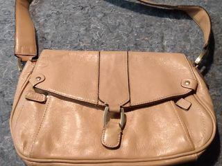 Tan Genuine leather East 5th Street Purse