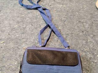 Blue Purse Wallet