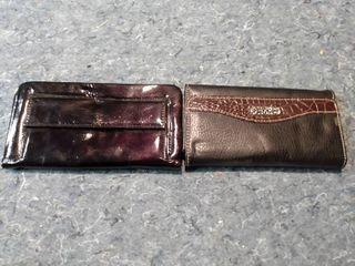 2 Black Wallets