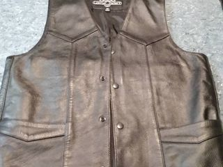 lester Gallery leather Vest