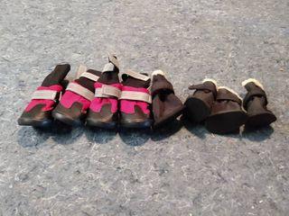 2 Sets of Dog Shoes