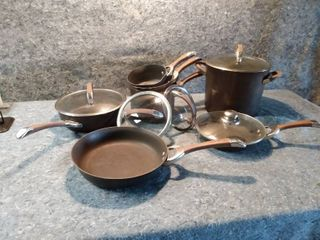 Circulon Heat Conducting Pots and Pans Set