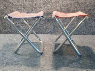 2 Childrens  lawn Chairs