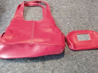 Red St  John s Bay purse and wallet