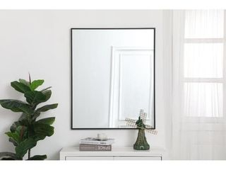 Carson Carrington Salsnas Metal Frame Rectangular Mirror  Retail 146 49