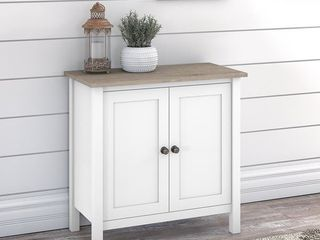 Pewter Finish   MDF   Assembly Required   White The Gray Barn Orchid Gulch 5 shelf Bookcase with Doors Retail  285 99 Retail 285 99