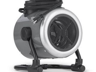 NewAir Portable 120V Electric Garage Heater  170 sq  ft with Adjustable Tilt Head  Perfect for Garages  Workshops  NGH170GA00  Retail 84 49