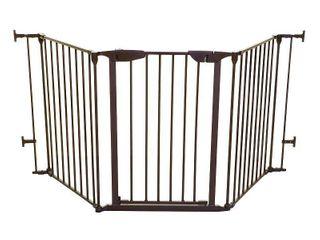 Black  Dreambaby Newport Adapta Brown Metal Gate  Retail 79 98
